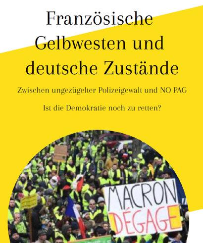 Veranstaltung Gelbwesten und PAG